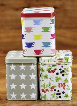 Schöne Teedosen