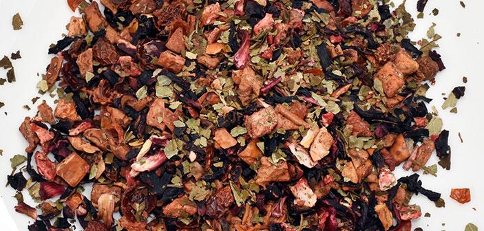 TEE-MAASS Früchtetee - Erdbeer-Nektarine