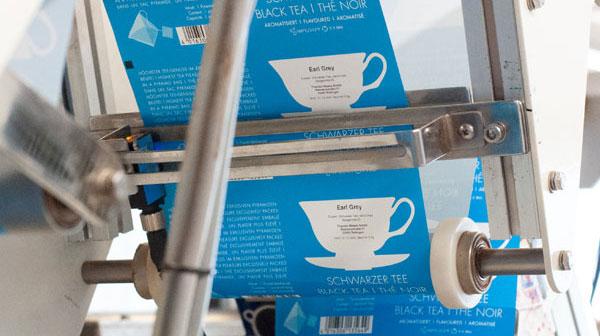 Tee-Verpackung