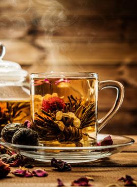 Herstellung Tee-Rosen