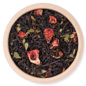 BLACK TEA STRAWBERRY-CREAM