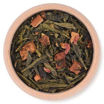 GREEN TEA BAKED APPLE