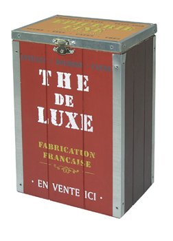 "TEE KISTE ROT ""THE DE LUXE"""