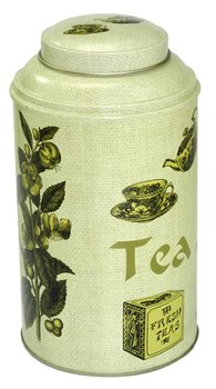TIN TEA MEMORY LIGHT GREEN 12