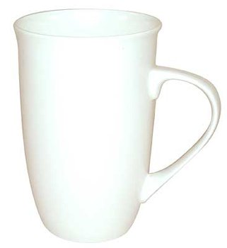 MUG FINE BONE CHINA WHITE