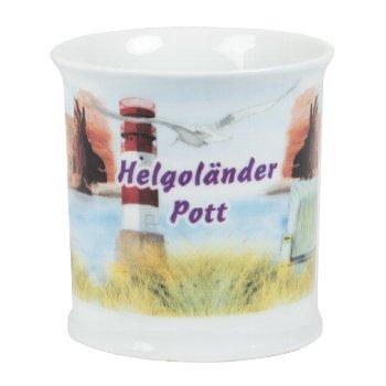 PORZELLANBE.HELGOLÄNDER POTT 6