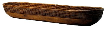 RATTAN-BROTKORB BRAUN/GROSS 1