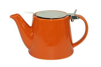 TEA POT ORANGE 600 ML