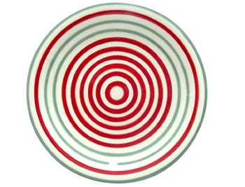 TELLER CIRCLES RED+GREY 6