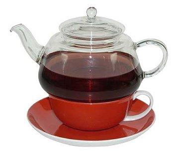 GLASKANNE FÜR TEA FOR ONE-SET