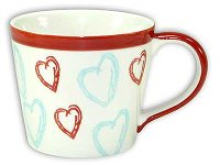 CUP FANCY HEARTS 6