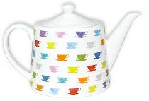 TEA POT 1.2L HAPPY CUPS
