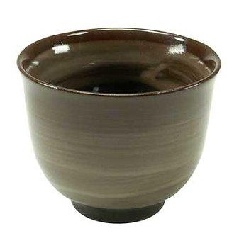 MATCHA-TEA CUP BROWN 10