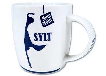 MUG SYLT & ANCHOR BLUE/WHITE