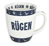 MUG RÜGEN BLUE-WHITE
