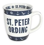 MUG ST.PETER ORDING BLUE-WHITE