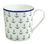 MUG NORDIC BLUE / ANCHOR