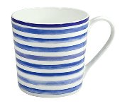 MUG NORDIC BLUE / STRIPES