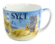 JUMBO MUG BEACH-DESIGN/ SYLT