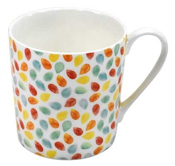 BECHER RAINDROPS COULOR DOTS