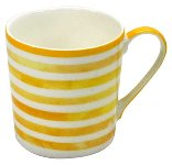 MUG COLOUR STRIPES / YELLOW