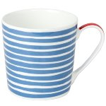 MUG BON VOYAGE/ STRIPES WIDE