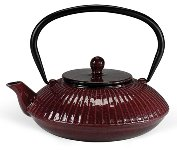 CAST IRON TEAPOT 1.1L RED