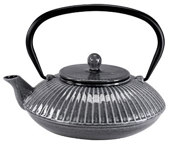 CAST IRON TEAPOT 1.1L GREY