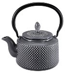 CAST IRON TEAPOT 0.85L GREY