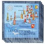 SERVIETTE NORDSEE - OSTSEE