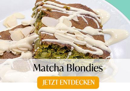 Matcha Blondies