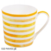 BECHER GELB COULOR STRIPES