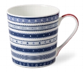 BECHER CHRISTMAS RIBBON BLAU