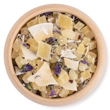 Lavendel-Kokos Früchtetee