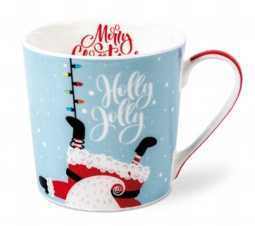 BECHER SANTA HOLLY JOLLY