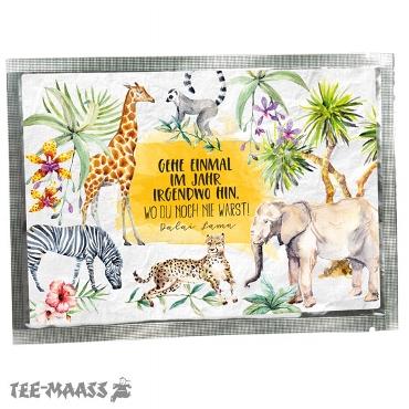 TEE-POSTKARTE AFRICA