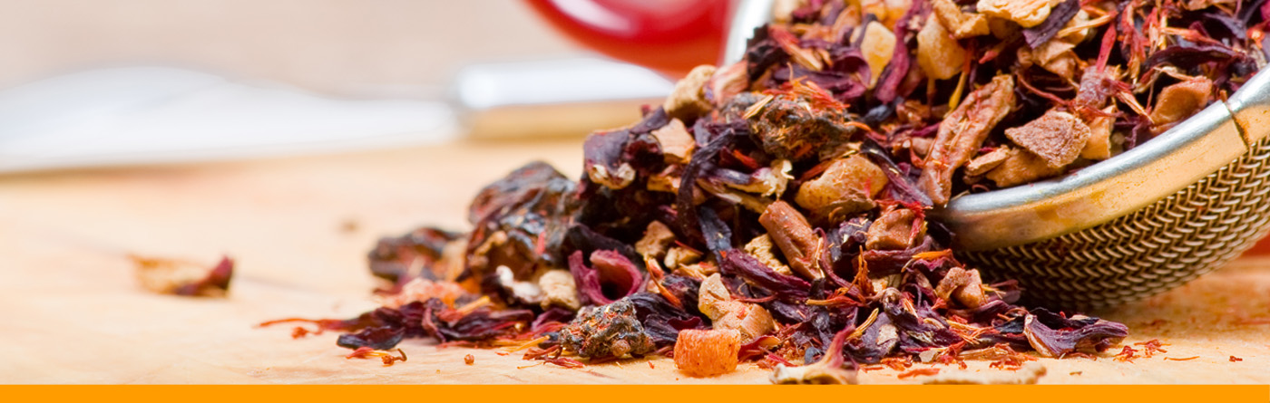 TEE-MAASS - Tee Wissen - Früchtetee